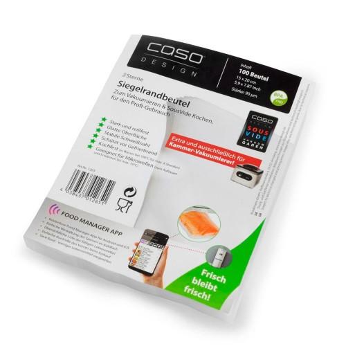 Пакеты для вакуумной упаковки CASO 6 Sterne 15х20