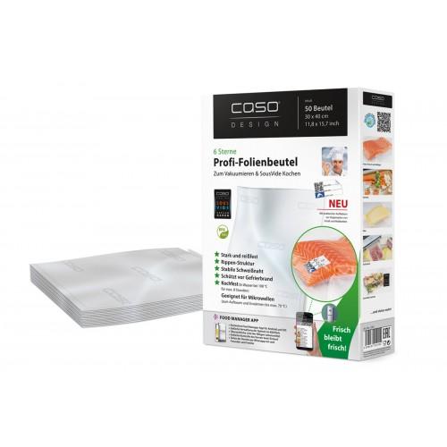 Пакеты для вакуумной упаковки CASO 30х40