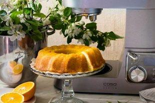 Апельсиновый кекс -  фруктовый и полезный десерт